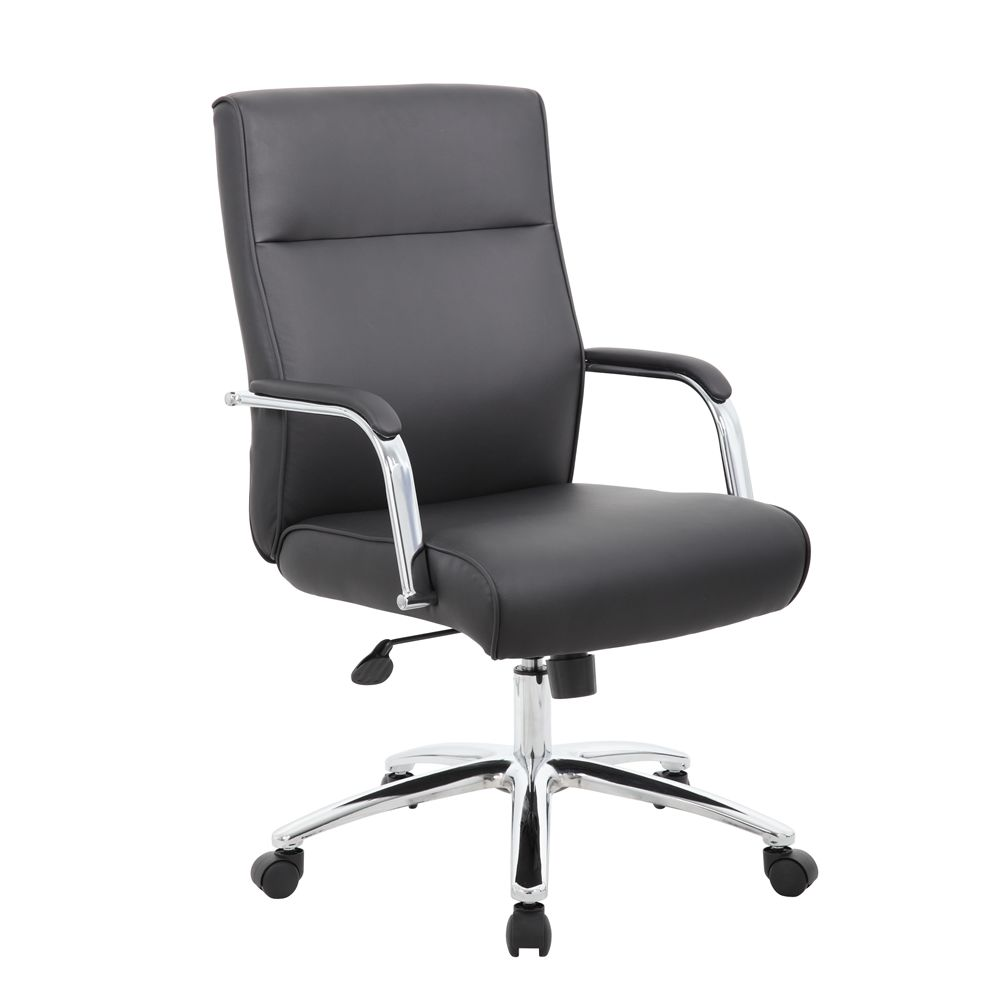 Boss Modern Executive Conference Chair, Black