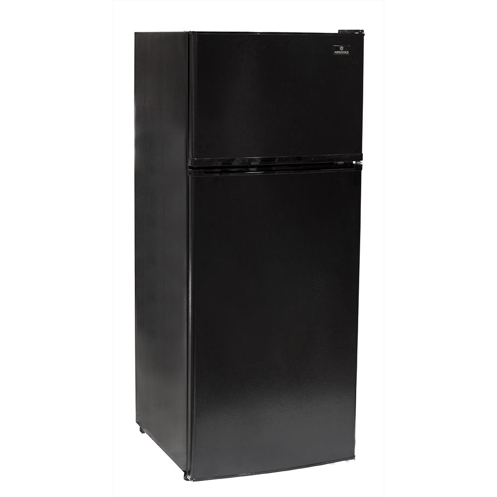 Absocold Apartment Size Refrigerator, 10.3 Cu Ft., Energy Star, Frost-Free Defrost, Black