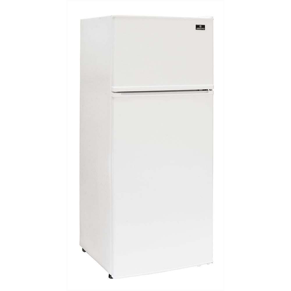 Absocold Apartment Size Refrigerator,10.3 Cu Ft, Energy Star, Frost-Free Defrost, White