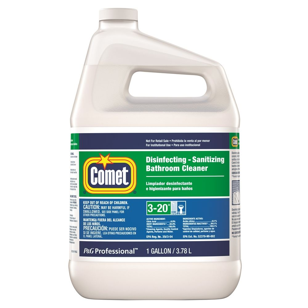 Comet Disinfecting Bathroom Cleaner 1 Gallon