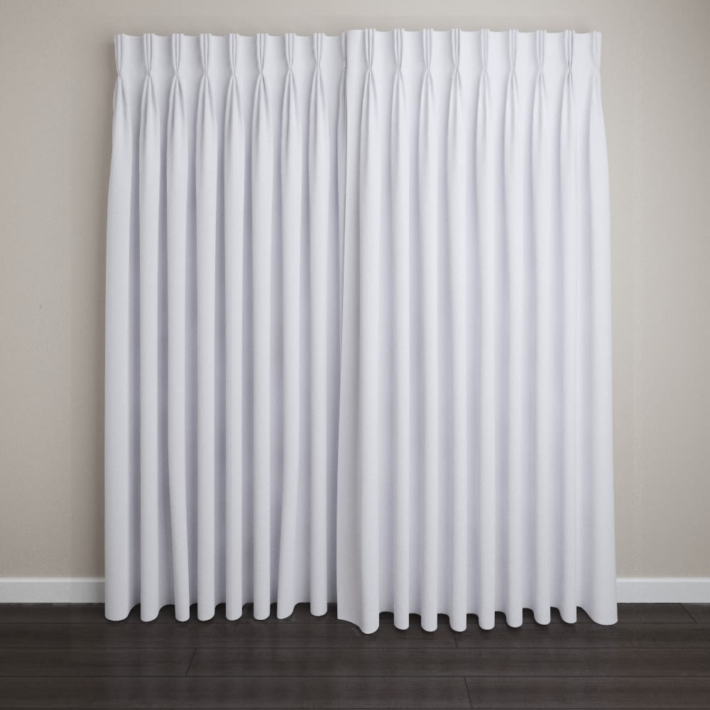 "Calysto Blackout Drapery, Pinch Pleat, 72"" Rod Width, 3"" Return, 36"" to 96"" Length (SPECIFY)"