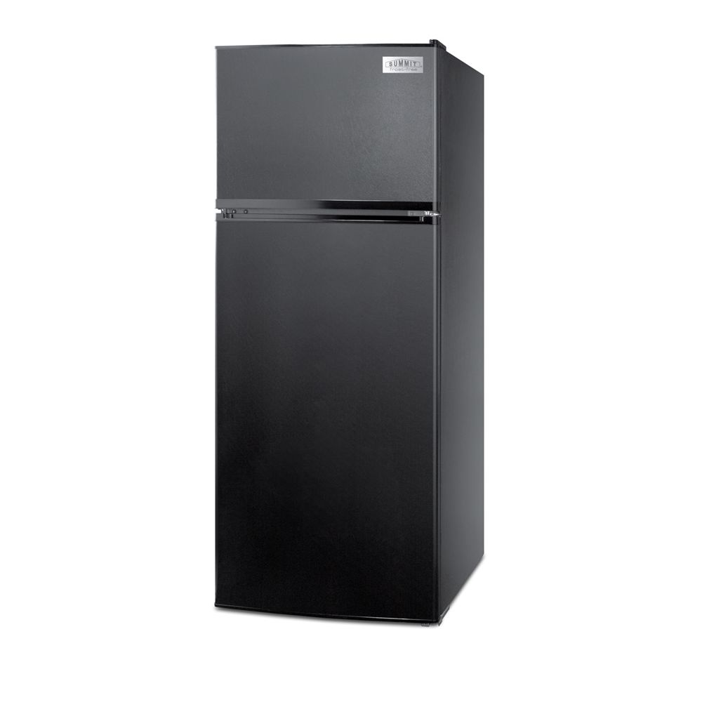 Summit Refrigerator, 10.3 Cu Ft, Energy Star Rated, Frost-Free Defrost, Black