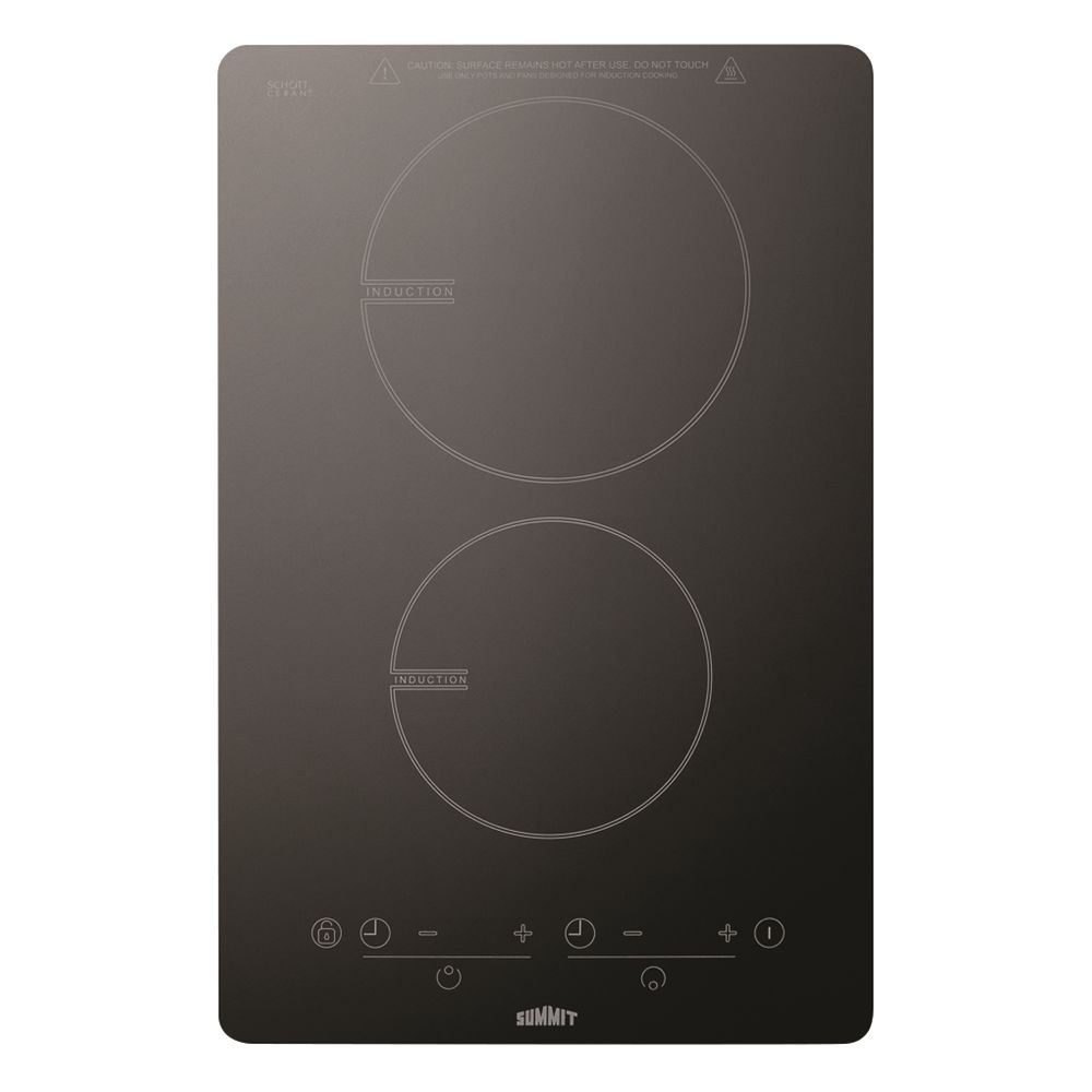 "Summit 13"" Induction Cooktop, Black"