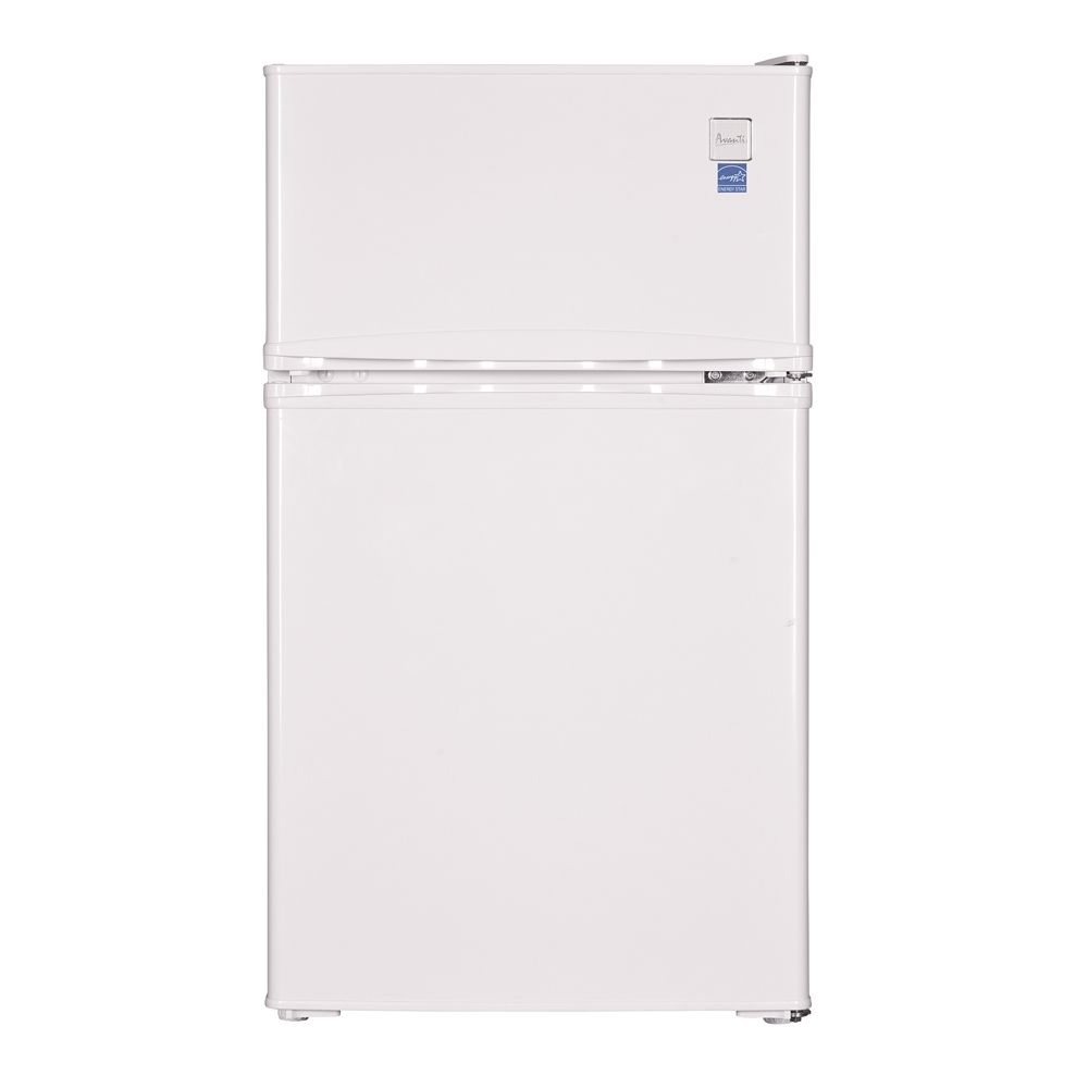 Avanti® Two Door Counterhigh Refrigerator, 3.1 Cu Ft, Energy Star Rated, Auto Defrost, White
