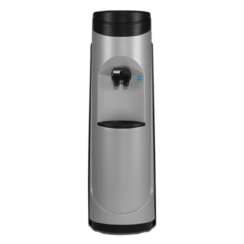 Aquaverve Pacifik Bottleless Water Cooler, Energy Start Rated, Silver / Black