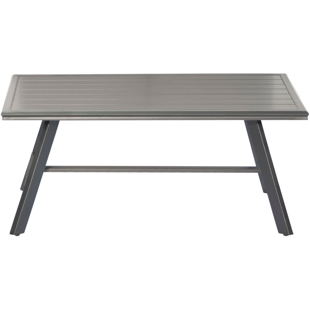 Cape Soleil, Aluminum Slat Coffee Table