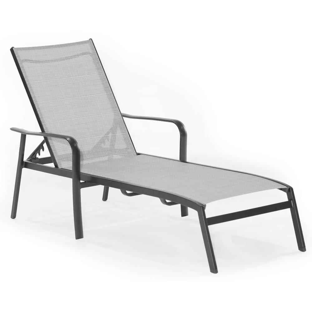 Cape Soleil, Richmond Commercial Sling Aluminum Chat Sling Chair