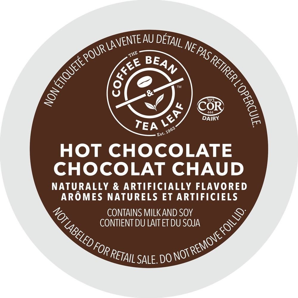 The Coffee Bean & Tea Leaf® Hot Chocolate Single Serve Cups