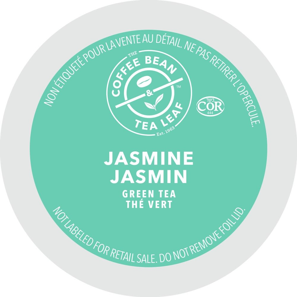The Coffee Bean & Tea Leaf® Jasmine Green Tea, Single Serve Cups
