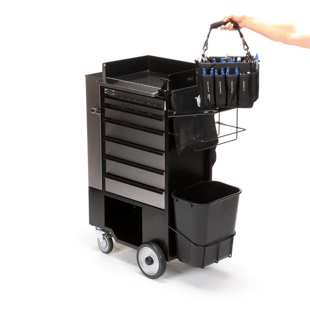 FlexCart® Engineering Cart with Bag Tools 84 Pieces, Stainless Steel (FC-100WBT)