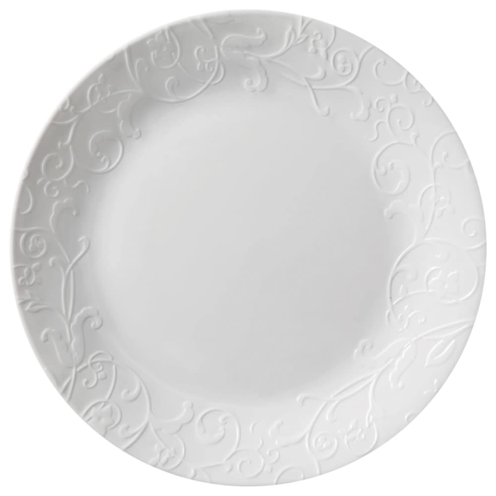 Corelle Embossed Dinner Plate, 10.5 in.