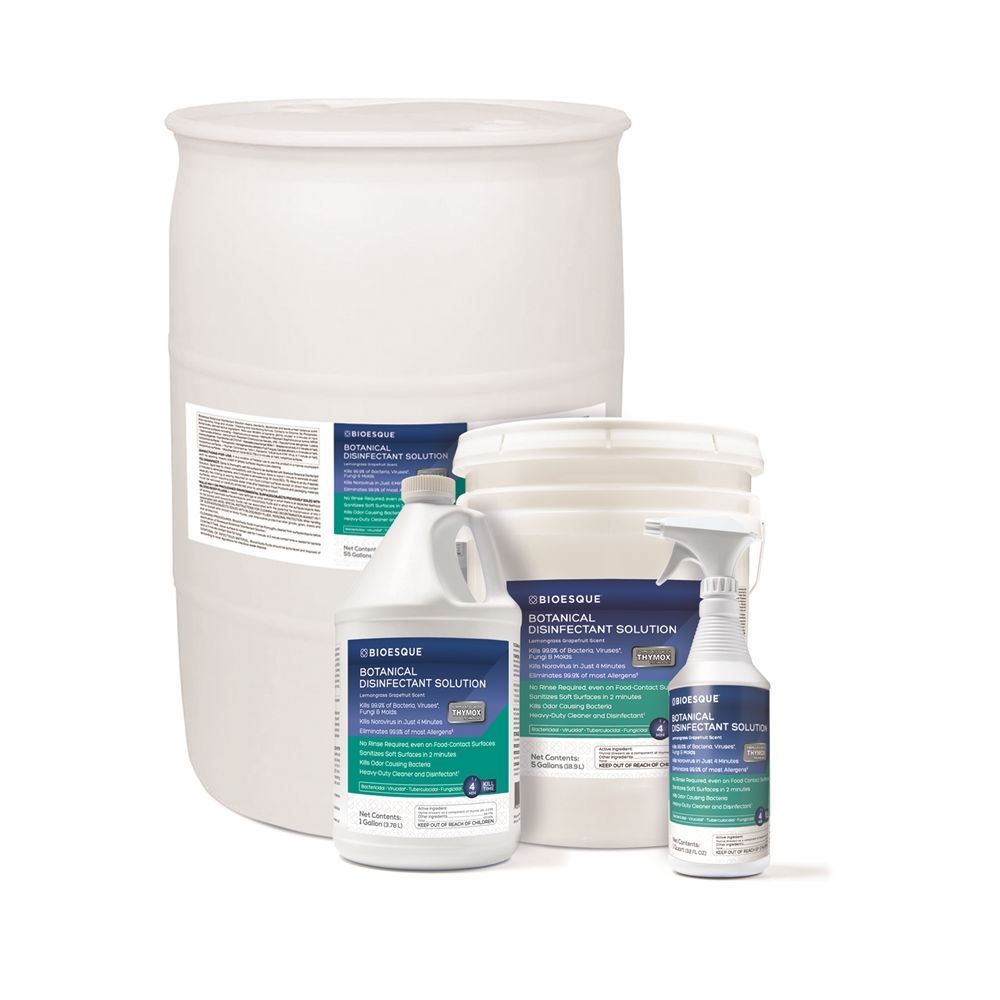 Bioesque Botanical Disinfectant Solution, 55 Gallon