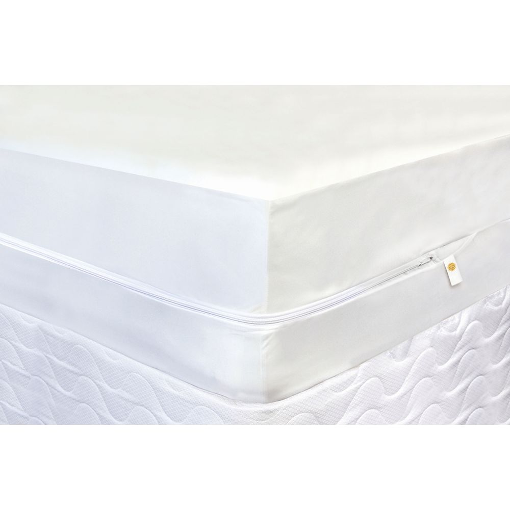 CliniSafe®Pro Ultimate Mattress Encasement, Queen 60x80,  Fits Mattresses 9-15in Deep, White