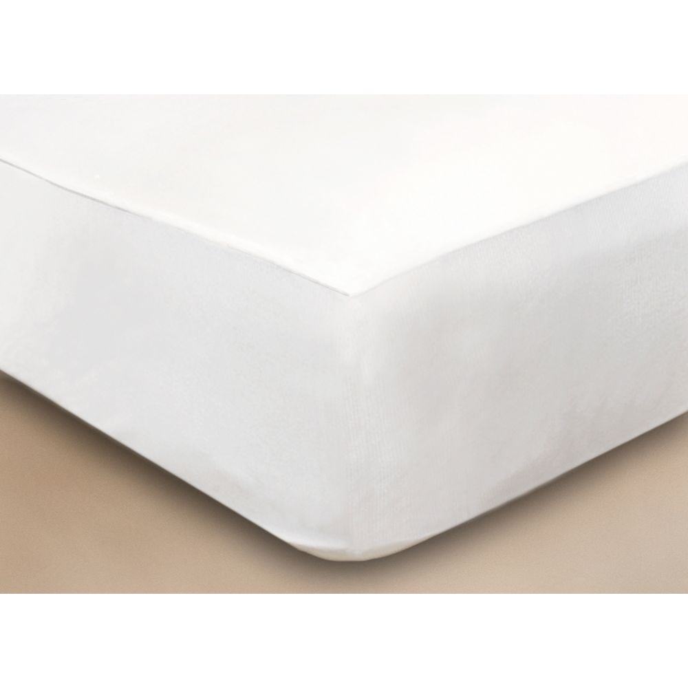 CliniSafe®Pro Classic Mattress Protector, King+ 72x84,  Fits Mattresses 9-15in Deep, White