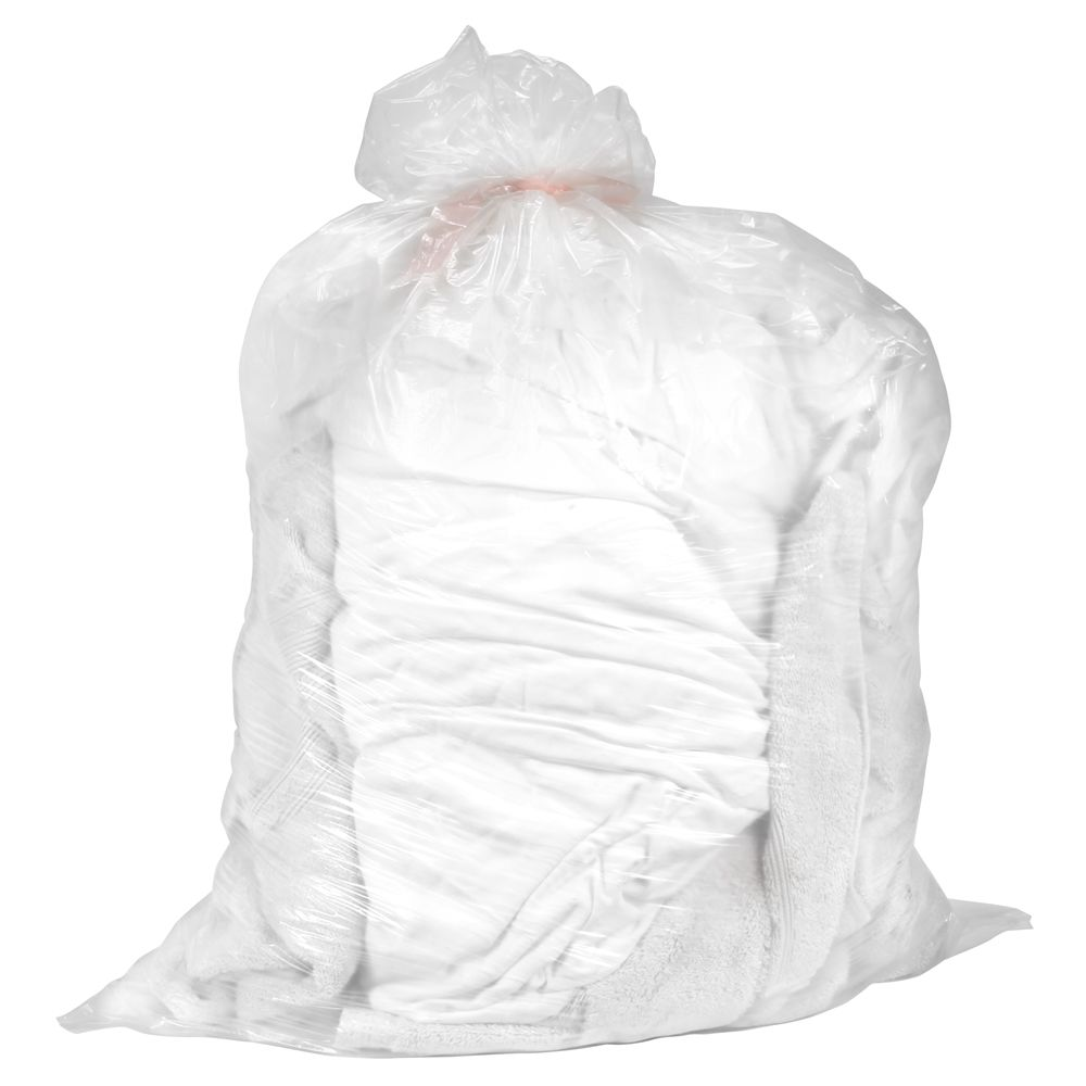 Elkay® Plastics Water Soluble Bags 36x39 40-45 Gallons, 0.8 Mil, Clear 100/cs
