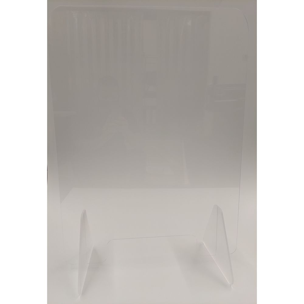 Portable Acrylic Safety Barrier, 23 in x 32 in