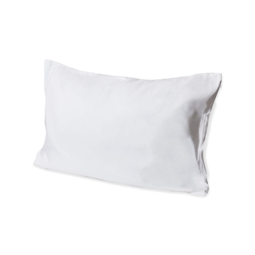 AquaRepel Zip Pillow Protector, 100% Polyester Microfiber with Nanotex Finish, King 21x37, White