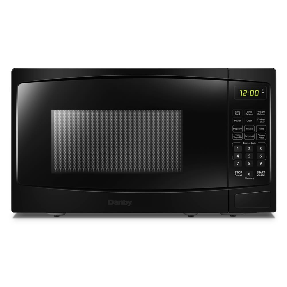 Danby Microwave with Touch Pad, 0.9 Cu Ft, 900 Watts, Black