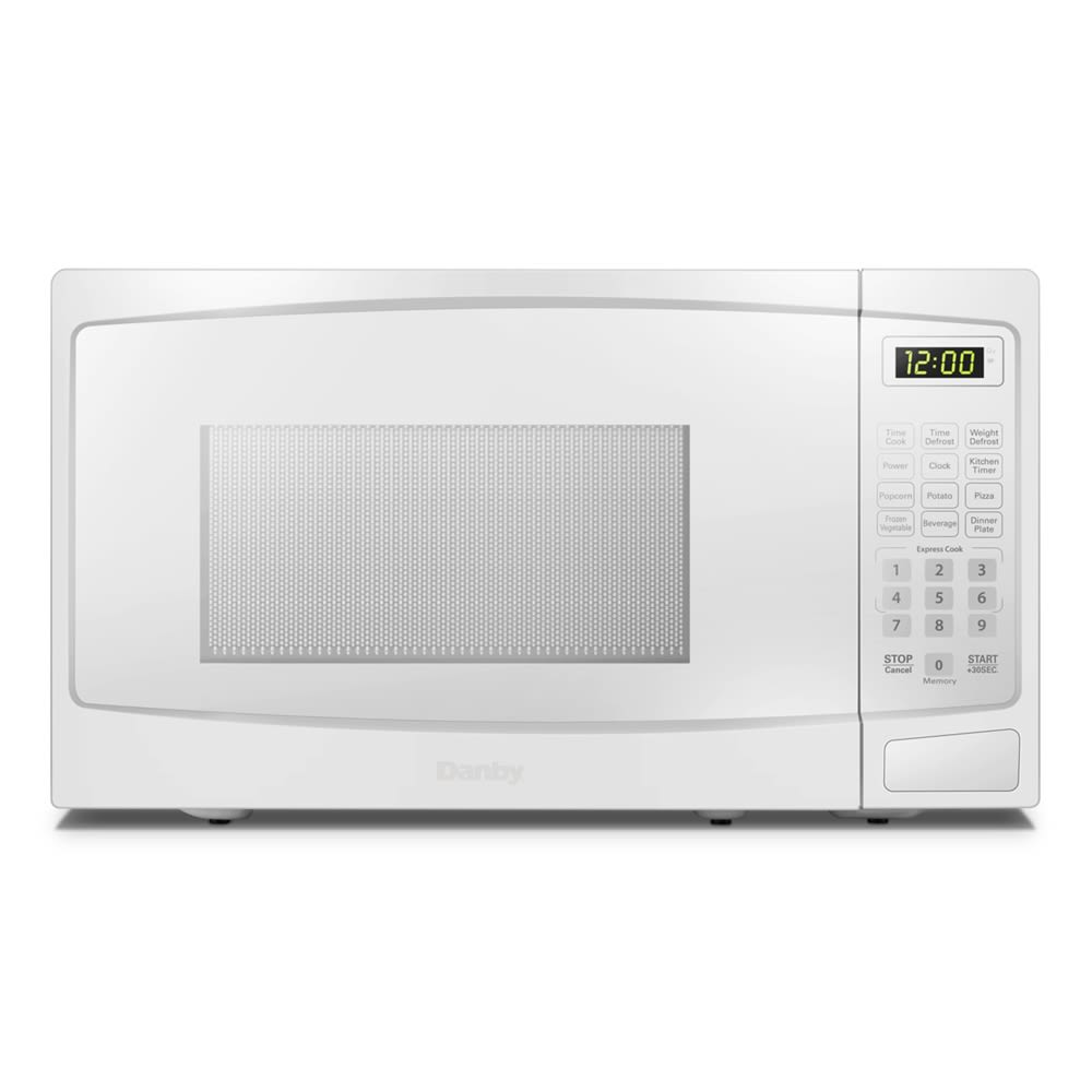 Danby Microwave with Electronic Controls, 0.9 Cu Ft, 900 Watts, White