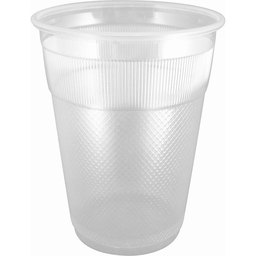 Cold Cup 7oz, Plastic Translucent, Unwrapped