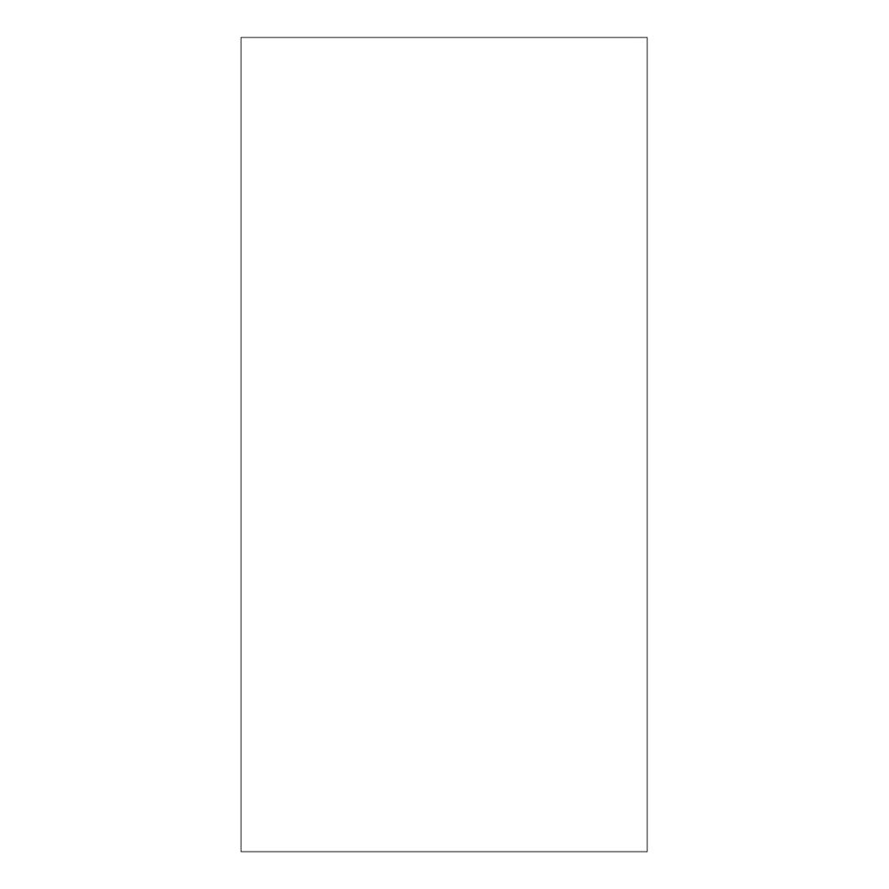 Guest Room Blank Notepad, White, 8 Sheets