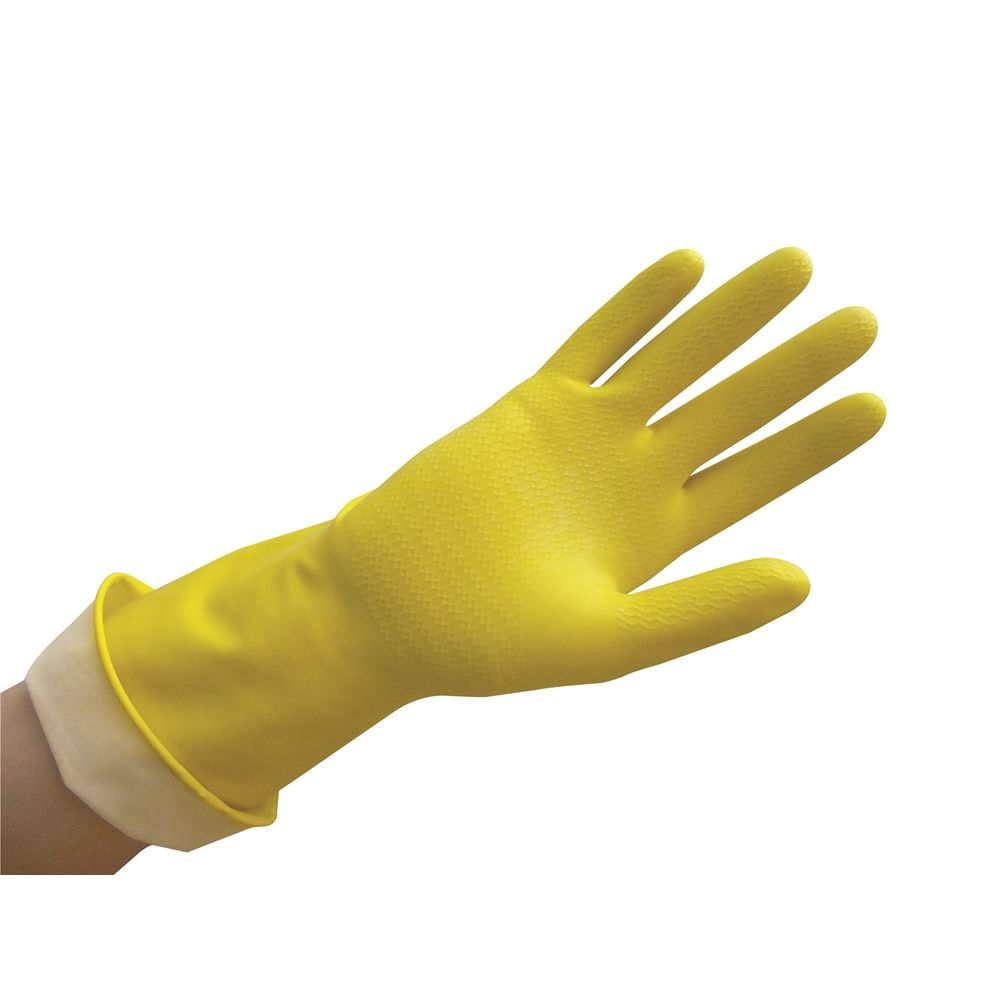 Ambitex Pro® Flocklined Gloves Powder Free, Yellow, Extra Large 1/pr