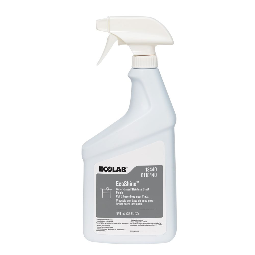 Ecolab® Ecoshine® Stainless Steel Polish 32oz #00018440