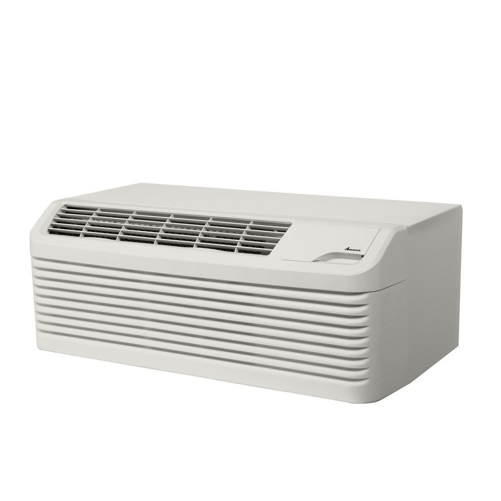 Amana® 26in Through-the-Wall Air Conditioner, 12000 BTU Heat Pump, White