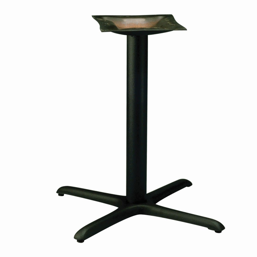 Cross Series Table Base-Black Wrinkle