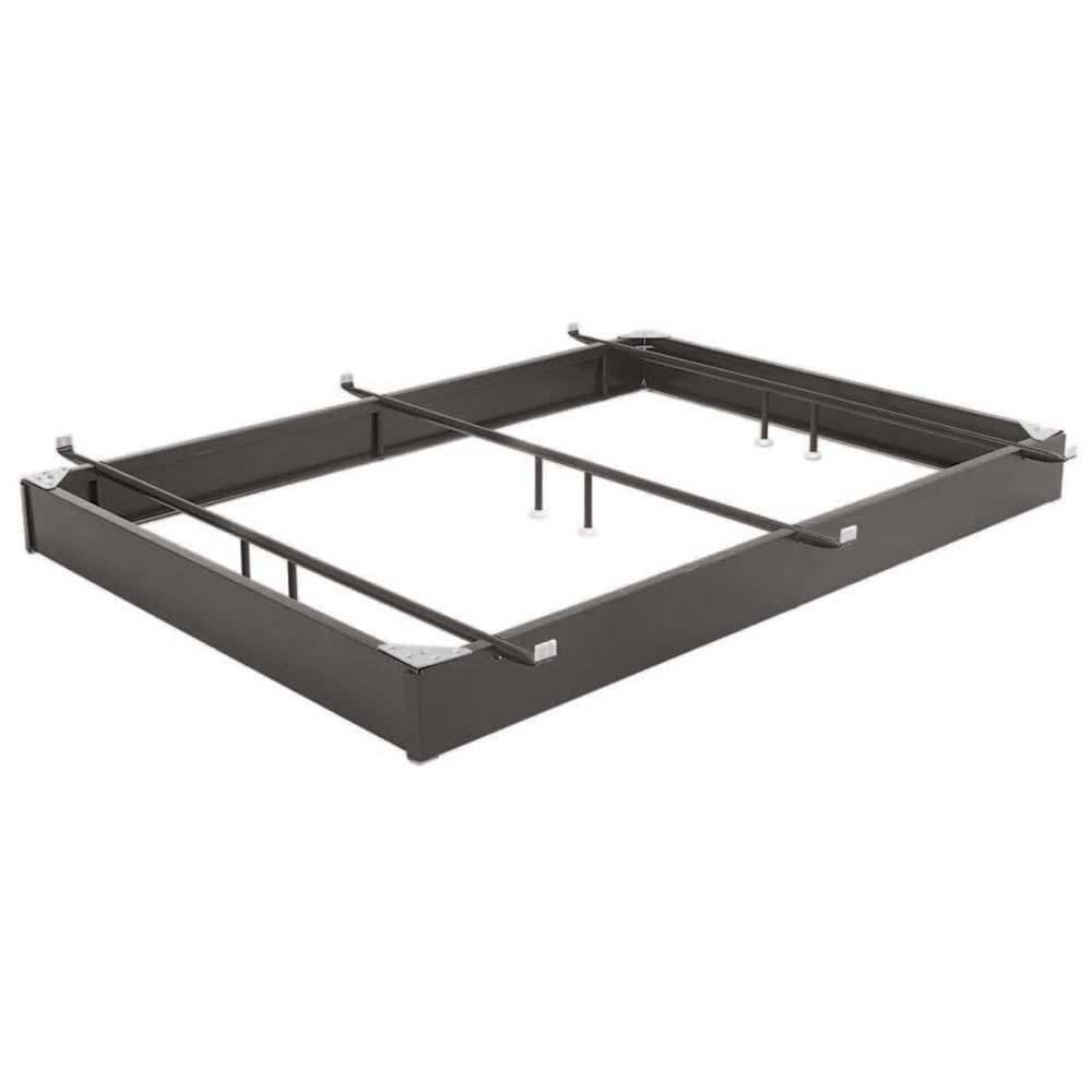 Bed Base, All Steel 10inch Full XL, Brown