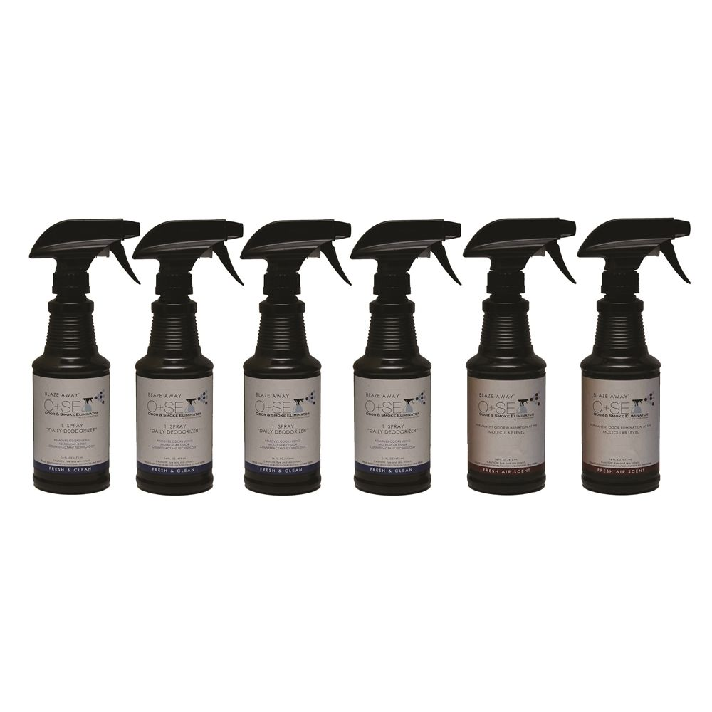 Aroma Country/Blaze Away Empty Refill, Table Top Foaming Pump Bottles, 8.5 oz.