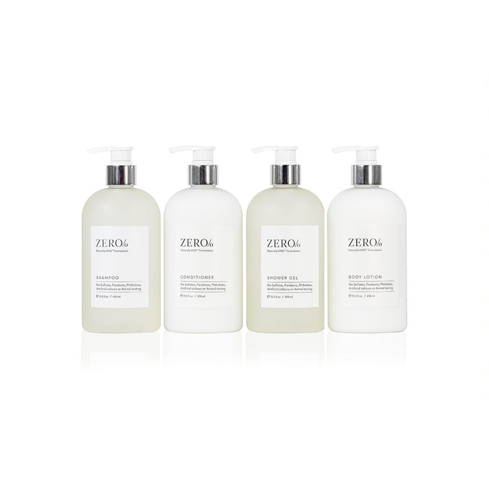 Zero% 15.5OZ Shampoo - Pump Bottle