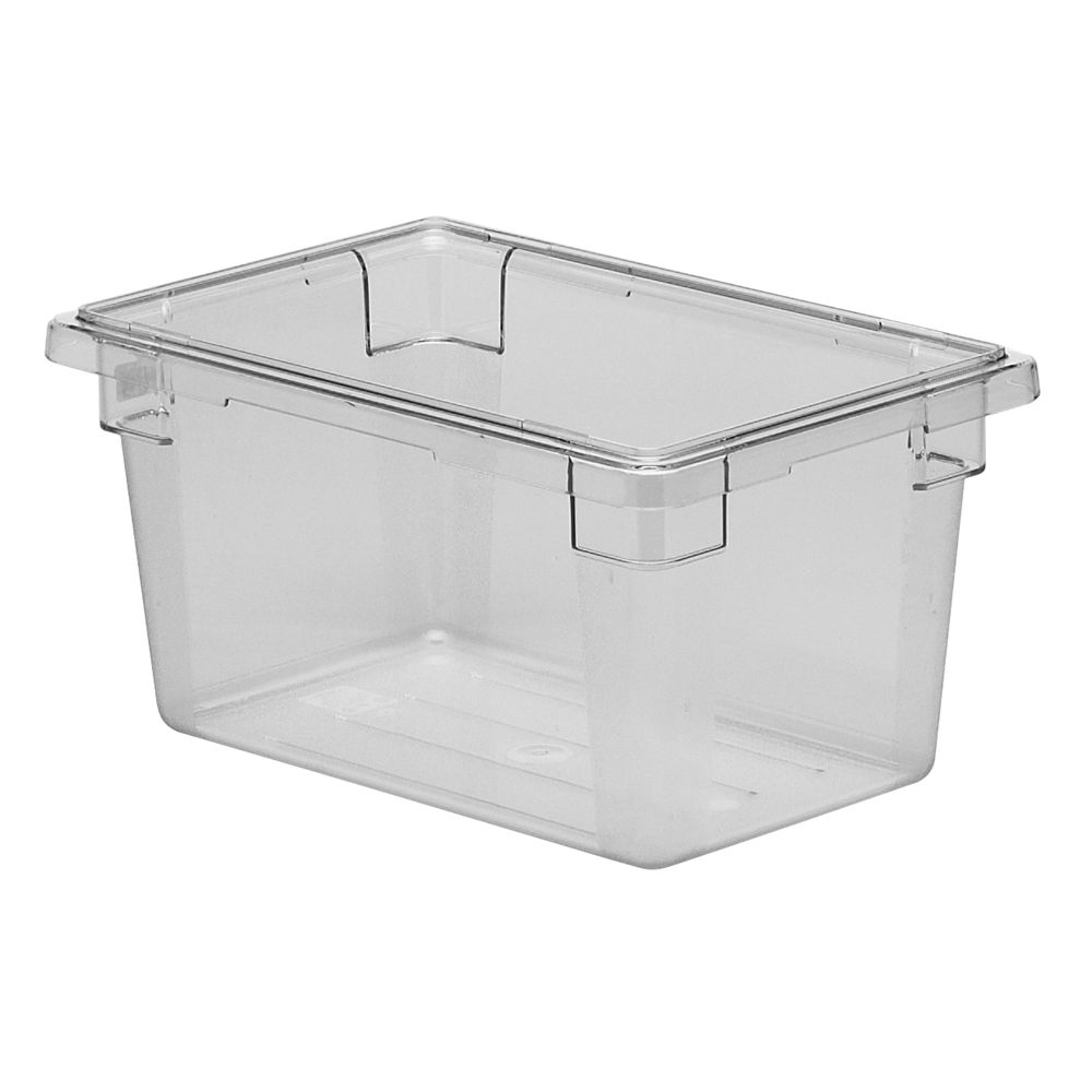Cambro® Camwear® Food Storage Box, 4.75gal, Clear