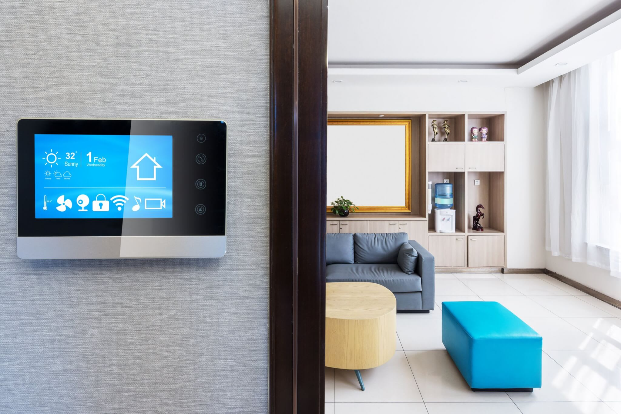 Install an automated home system in your short-term property rentals