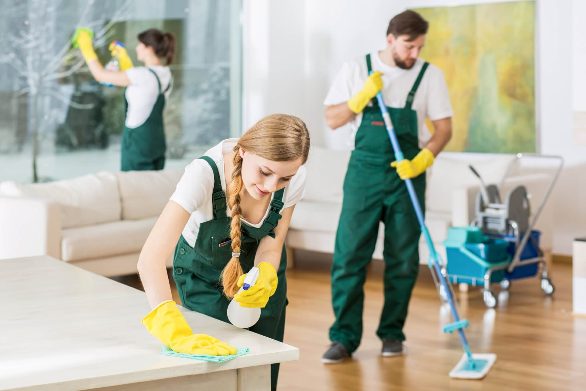 Enlist professional housekeepers for your short-term properties