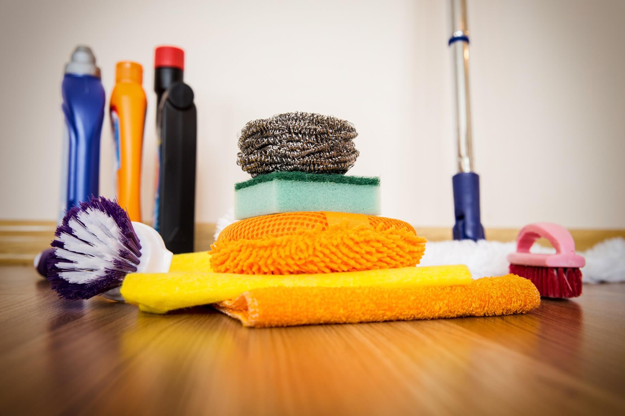 cleaning supplies coronavirus