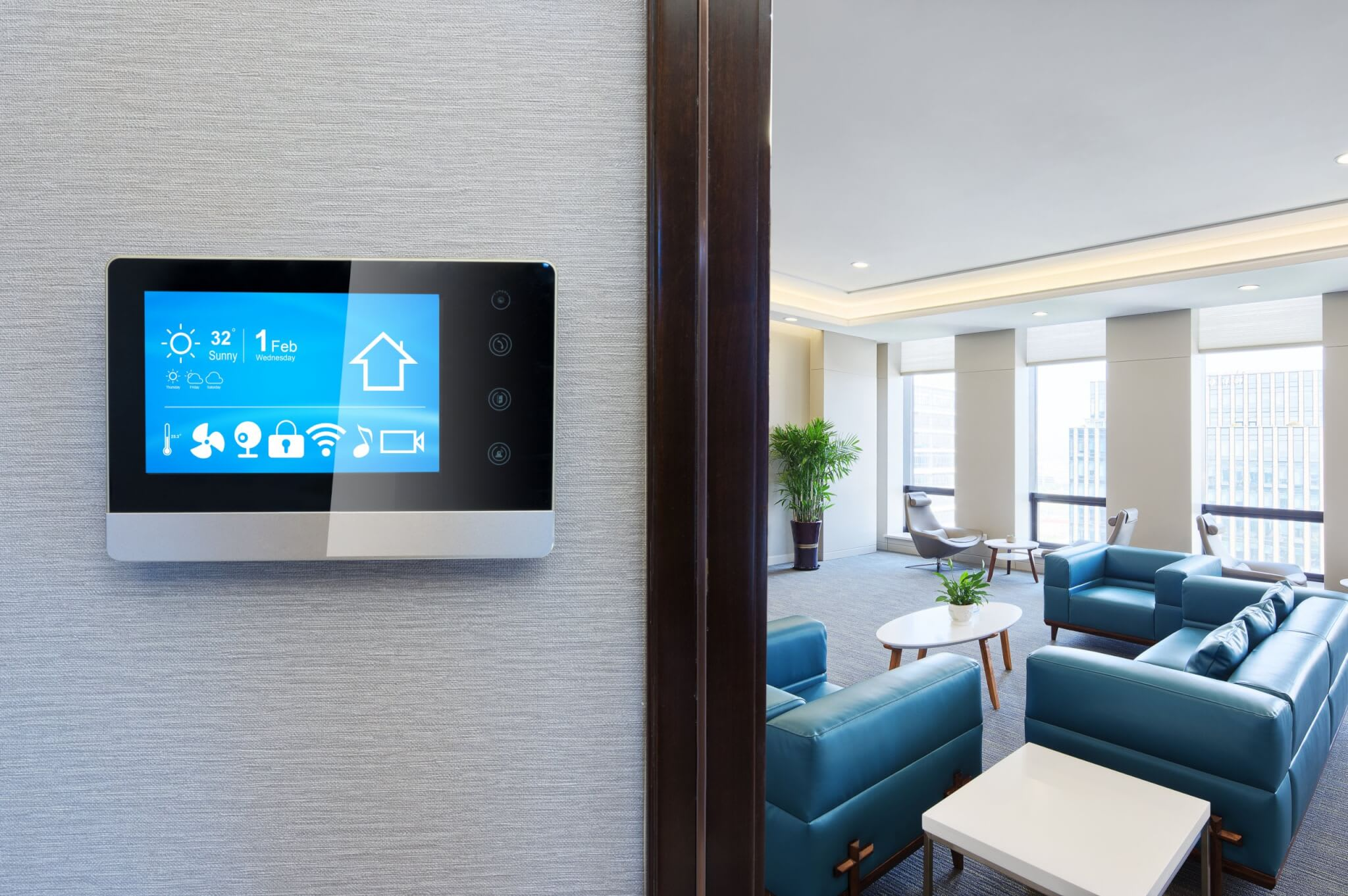 A smart thermostat is a great way to reduce energy and save on costs