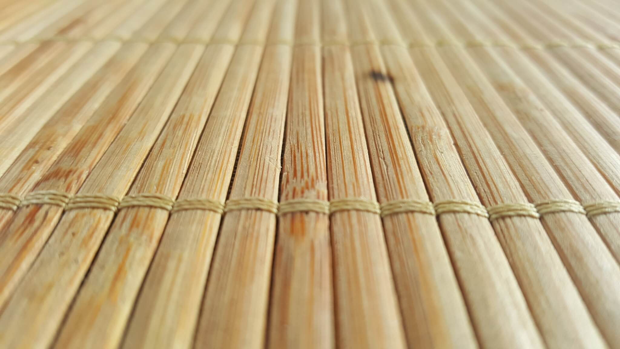 Make your floors eco-friendly by using sustainable materials like bamboo