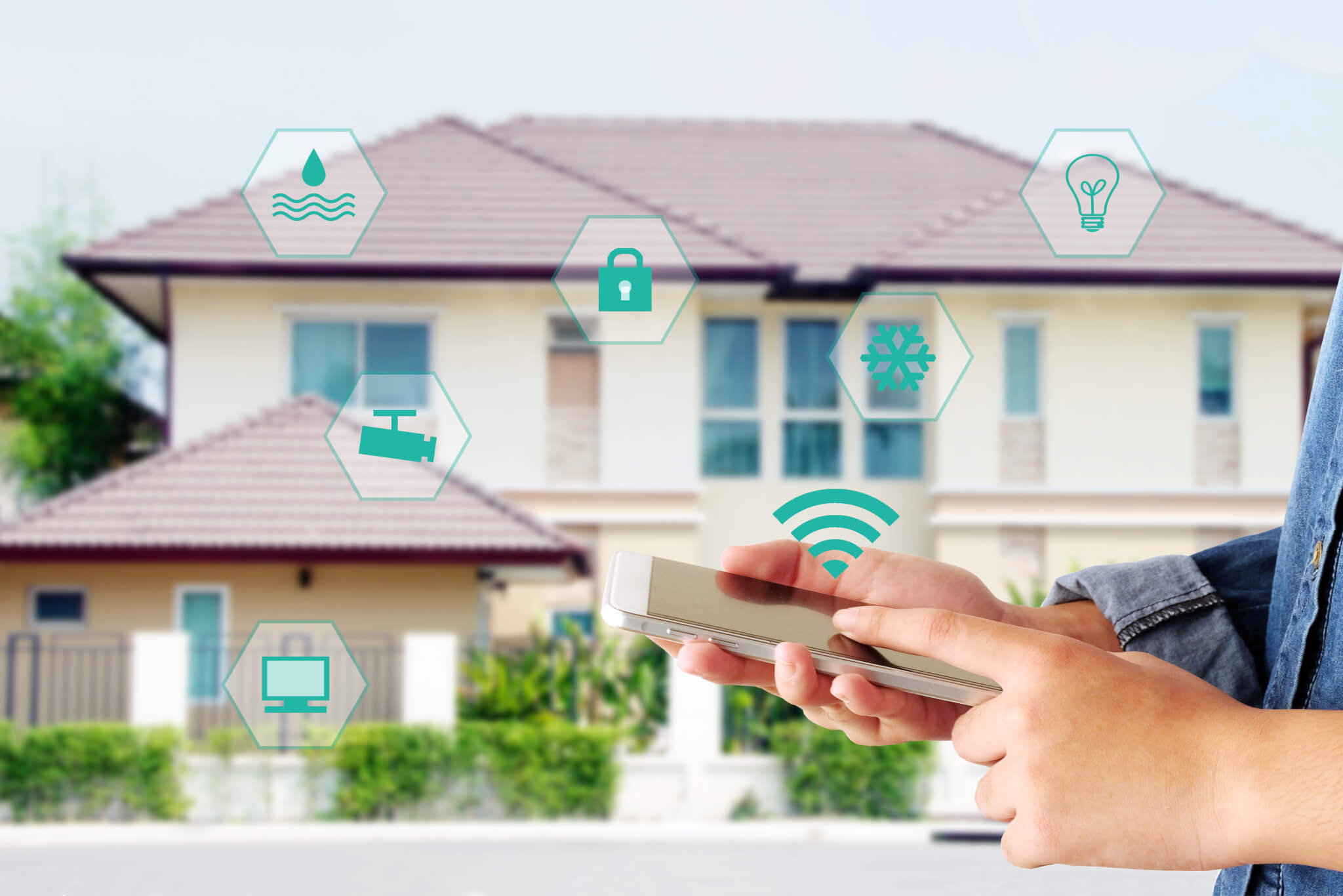 Make guests feel safe with security sensors