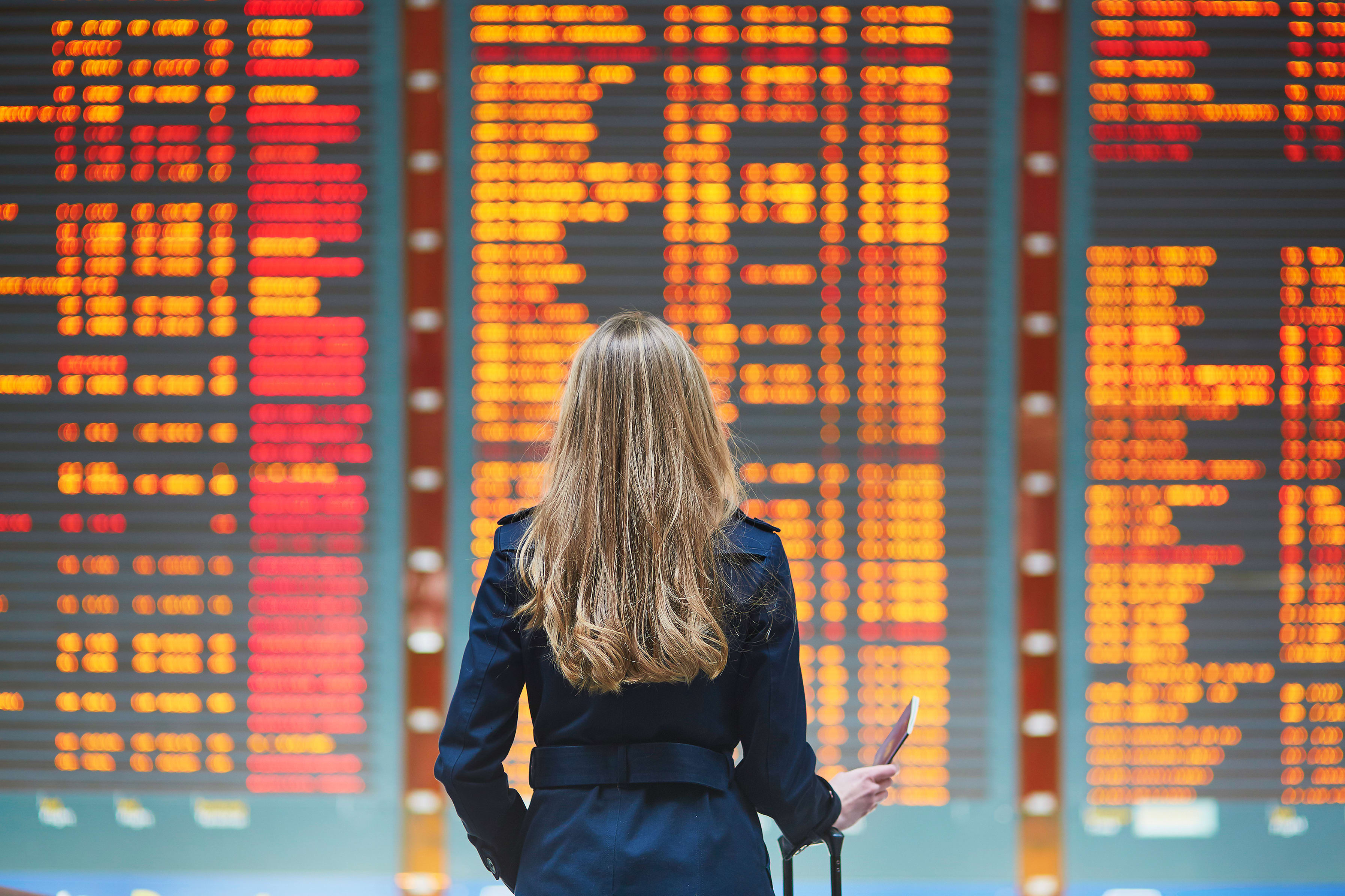 Make your guests' flight delays less traveling