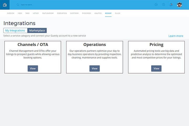 Guesty Integrations