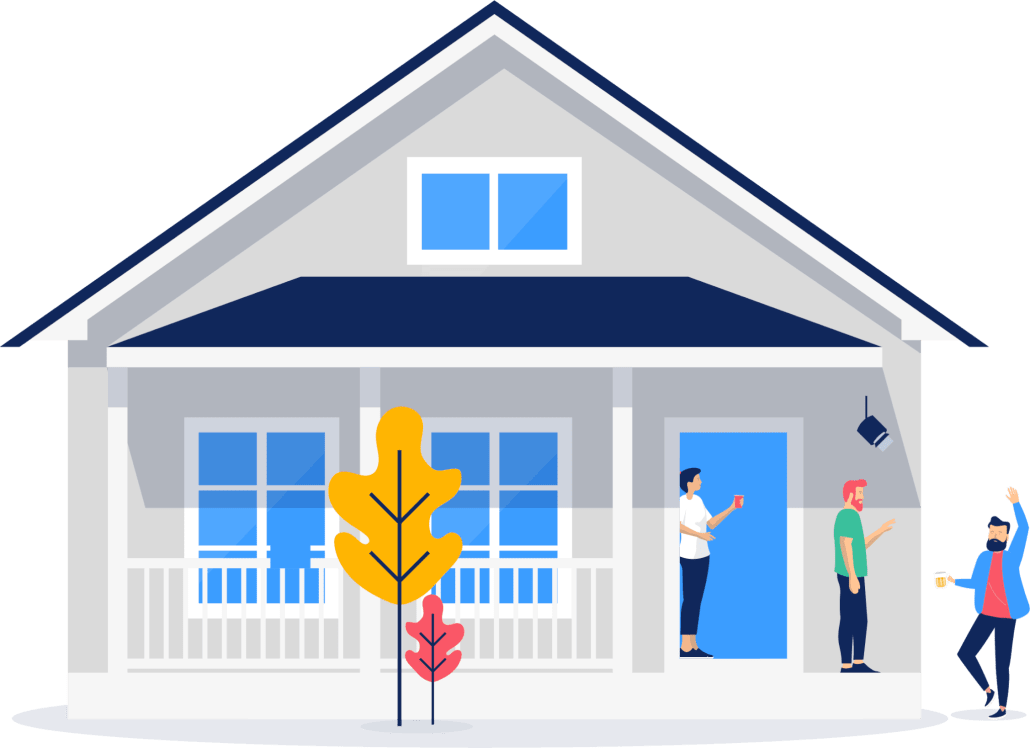Creating a 'ring' of security your property - Guesty