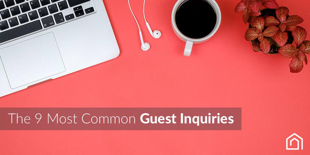Guest Communication : Guest Inquiries