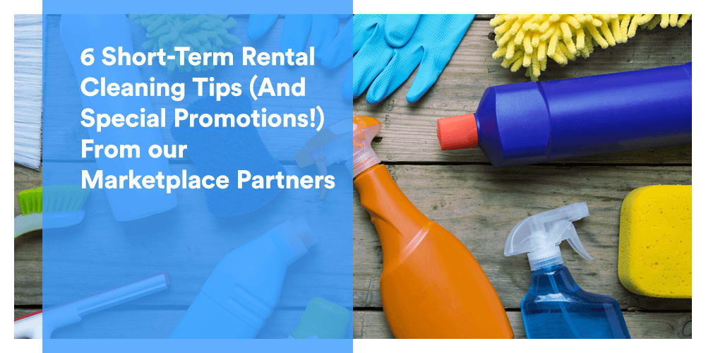 cleaning tips for short-term rentals