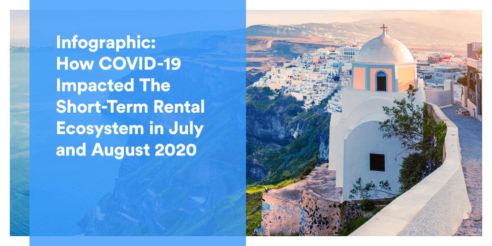 Infographic: Here's How COVID-19 Impacted The Short-Term Rental Ecosystem in July and August 2020