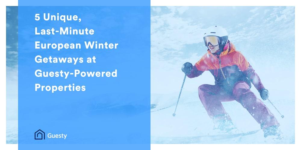 Unique GetAways For Your Winter Travel Needs