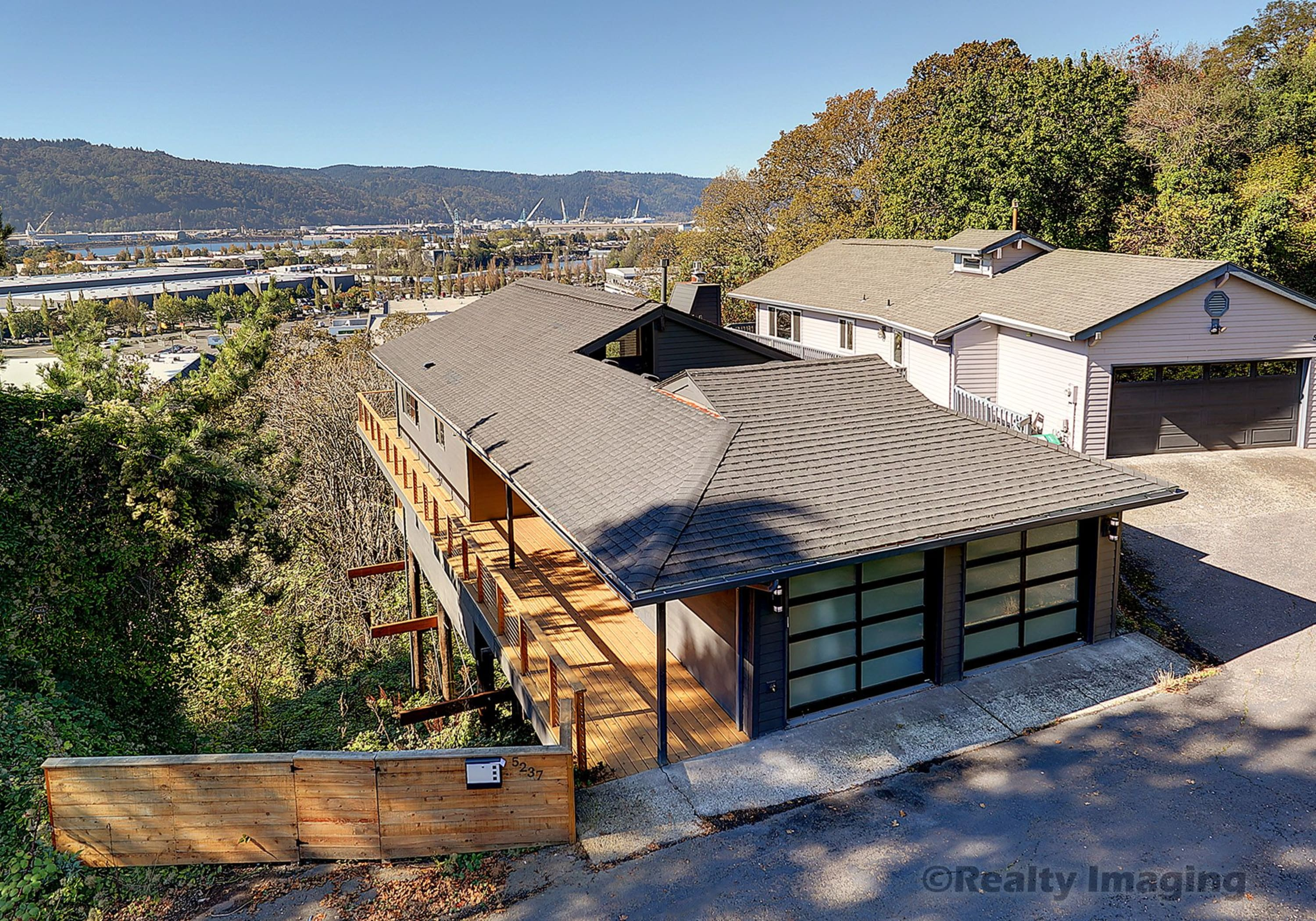 Mid Century Modern with sweeping Northwest Hills and Sunset Views