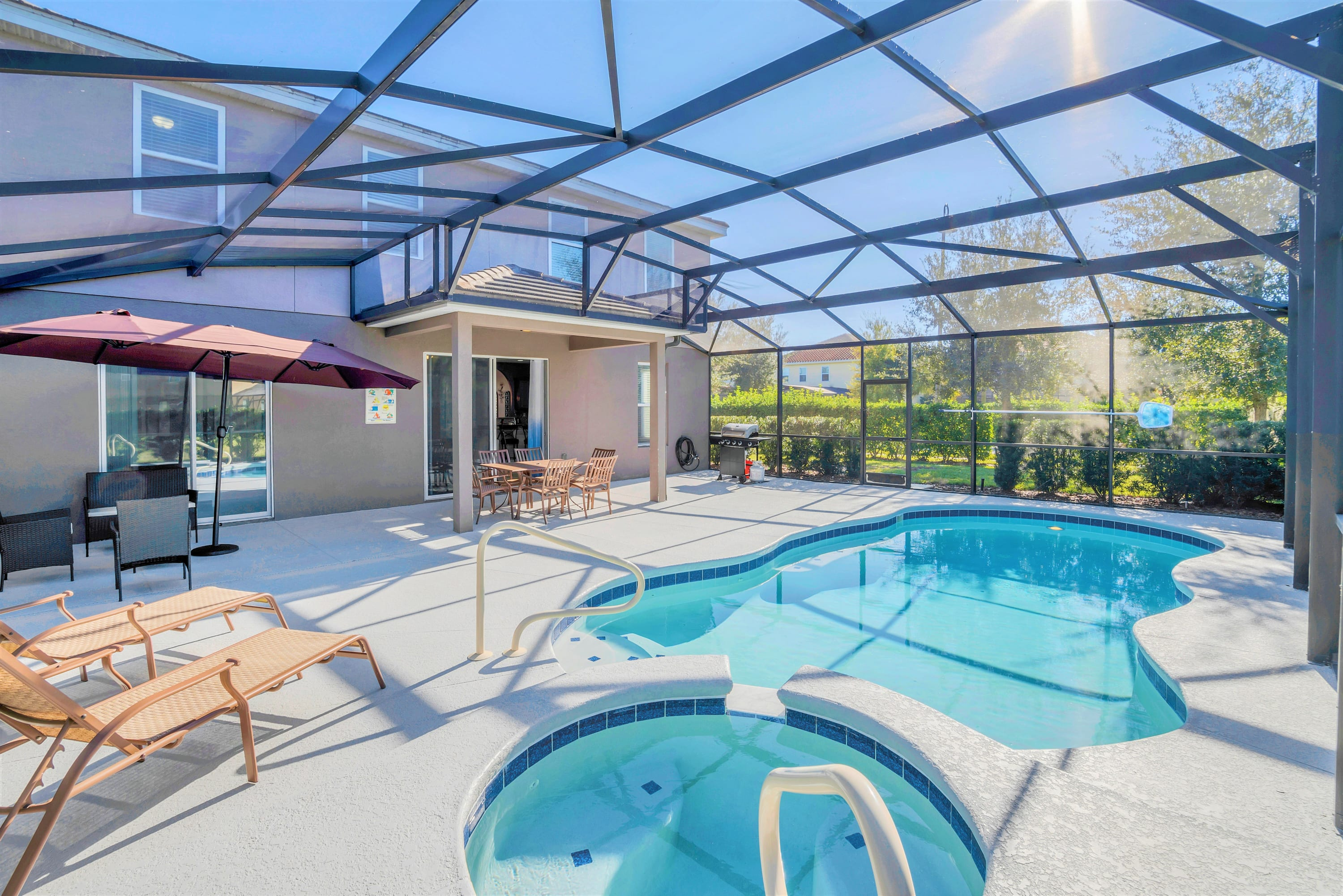 Family Resort - 6BR Home - Private Pool, Hot Tub and BBQ!