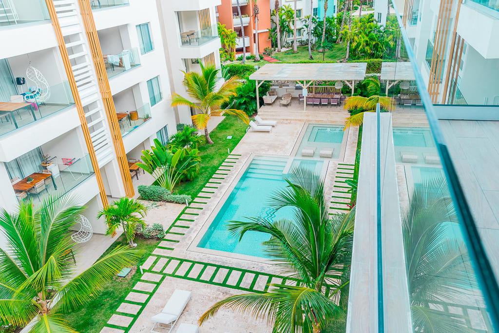 Best accommodation in Bavaro, 1 block from the beach