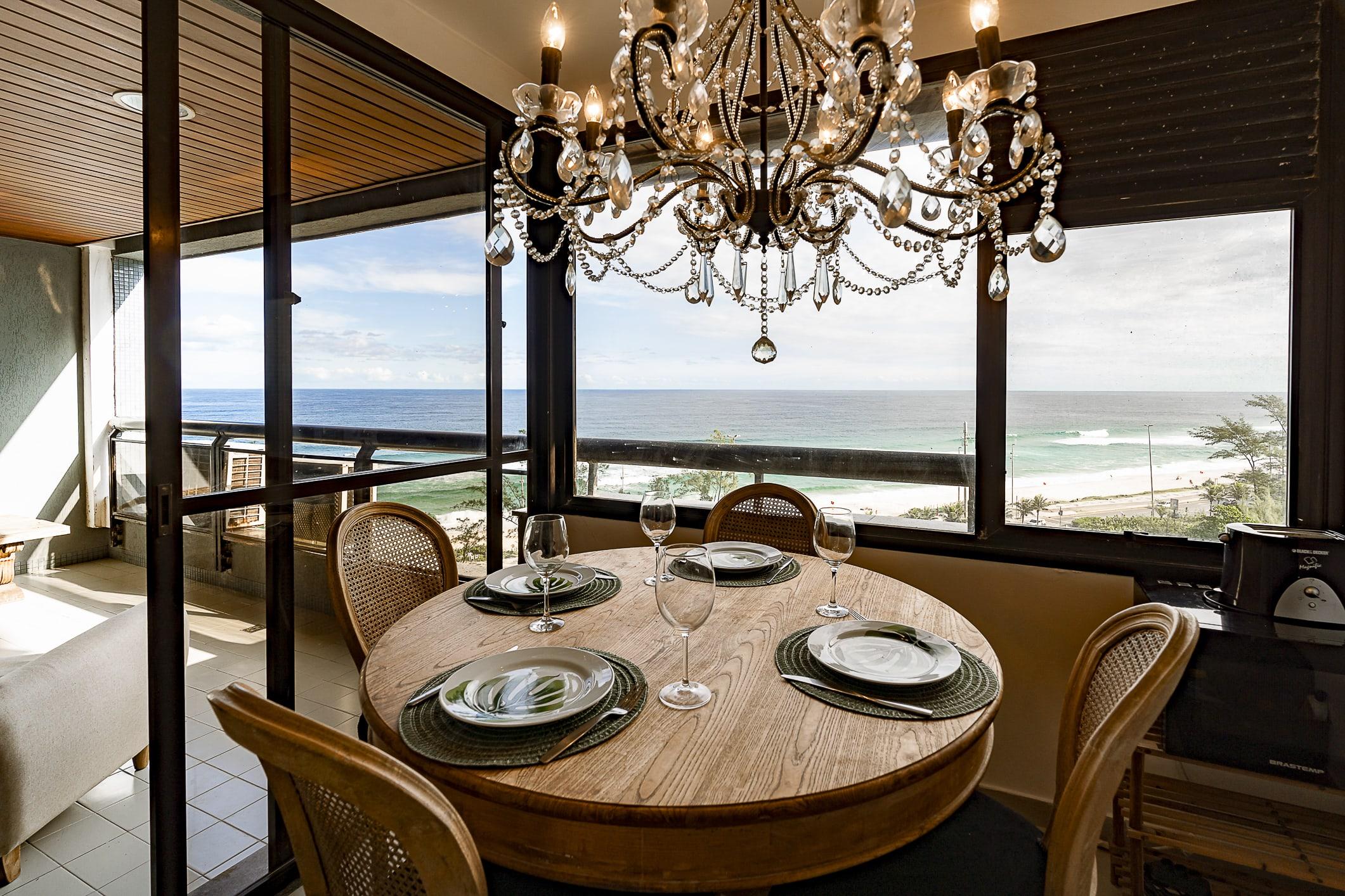 Belíssimo apartamento beira-mar na Barra da Ferienwohnung in Brasilien